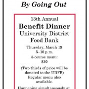 Benefit Dinner 2015